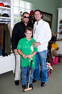 Back row L-R: Richard Cohen, Vince Spadea,  Front: Matt Cohen