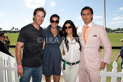 Brandon and Erica Phillips, Kourtney Kardashian, Scott Disick