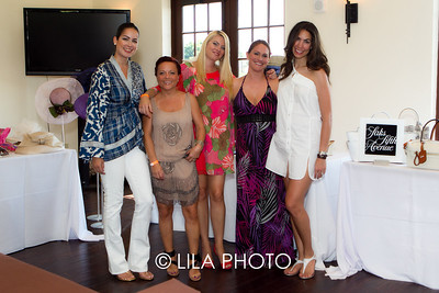 Rebecca Demonte, Ilona Wyszynska, Dawn Diez, Michelle Peters, Elizabeth Munder of Saks Fifth Avenue, Worth Ave.
