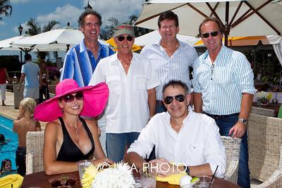 James Braden, Arvo Katajisto, John Lehmann, John Lloyd (front row) Kirsten Braden, Charles Haswell