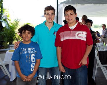 Sebastian Athurtado, Cody Linley, Kevin Davalos
