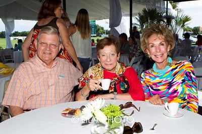 Michael Simpson, Joan Pine, Barbara Simpson
