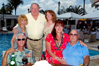 (back row) Linda Schnapp, Ed and Lorraine Gerrity (front row) Marvin Schnapp, J.J. and Maurice Grodensky