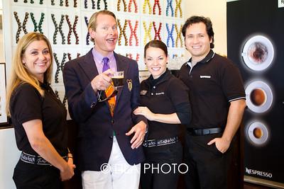 Carson Kressley and Nespresso staff