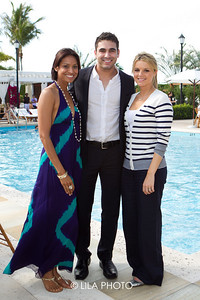 Kamini Chinloy, Roberto Martinez and Ali Fedotowsky