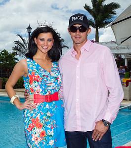 Miss America 2012 Laura Kaeppeler, Jeff Hall; LILA PHOTO