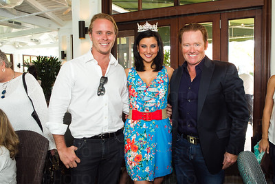 Matthew Simon Nash Kibble, Miss America 2012 Laura Kaeppeler, Marc Ganzi; LILA PHOTO