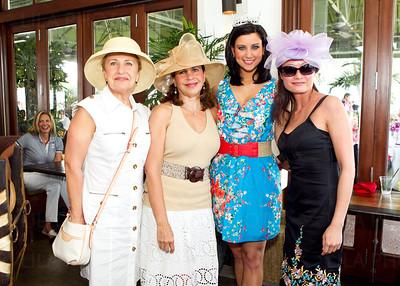 Marina Pop, Lourdes Ferris, Miss America 2012 Laura Kaeppeler, Mandy Chan; LILA PHOTO - HSBC