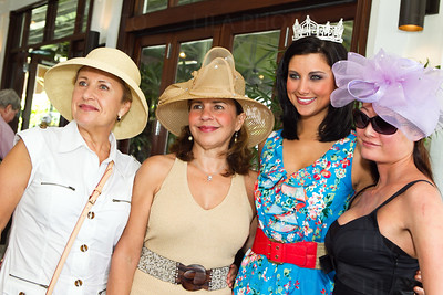 Marina Pop, Lourdes Ferris, Miss America 2012 Laura Kaeppeler, Mandy Chan; LILA PHOTO