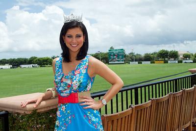 Miss America 2012 Laura Kaeppeler; LILA PHOTO