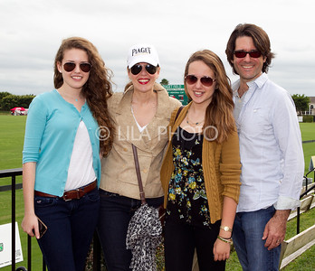 Abigail, Lauren, Mackenzie, and Terry Duffy