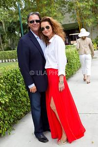 Michael and Julia Van Horn (wearing PINK)