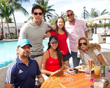 Gustavo Amorin, Stephanie Zilo, Andrea Amorin, Carlos Ribas, Katty King, Sergio Campos