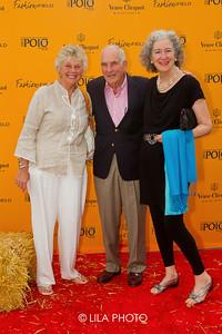 Barbara Birdsey, Charles Birdsey and Betsy Pollock.