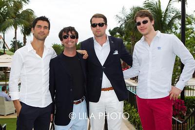Gulien Kron, Chris McDermott, Sebastien De France, Jeremie De France