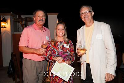 Fred Volpe, Mary Glidden, Bob Still