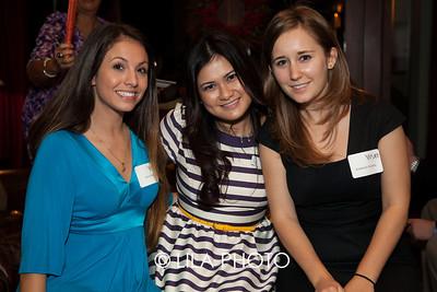 Ariel Smith, Lady Lunn, Kimberly Ricketts of Venue Marketing