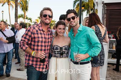Zach McElroy, Stephanie Fair and Brent Stuart.