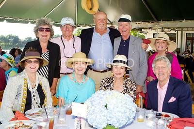 (sitting) Verna Bucks, Gail Colman, Ucola Forness, Bill Forness (standing) Marjorie Thomas, Tom Colman, Bryan Thomas, Ken Murray, Beth Murray