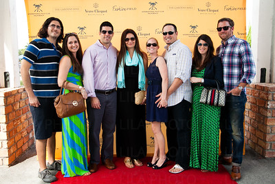 Eric Ballas, Sara Densen, Jamie & Katie Margolles, Beth & Hawkeye Wayne, Rachel & Patrick Helms