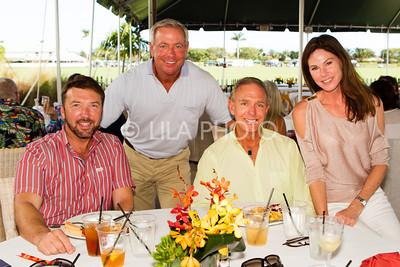 David Cains, Mark Bennett, Ron Neal, Liz Ryan