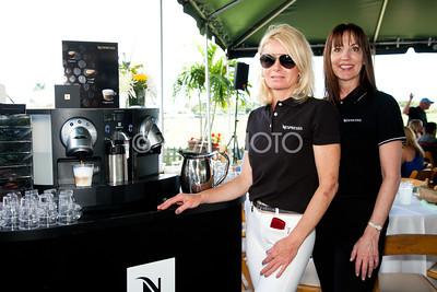 Dunja Calvani, Anna Davis  with Nespresso