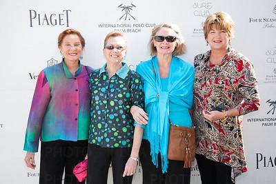 Carole Lavin, Lynee Kelley, Joyce Berger, Karen Galanaugh