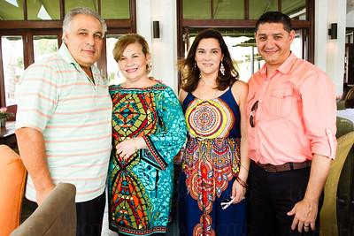 Omar & Alba Dotto, Javier & Vanina Petazzi