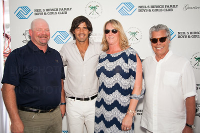 Ray Mooney, Nacho Figueras, Terrie Mooney, Neil Hirsch