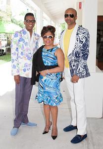 B Michael, Valeriie Simpson and Mark Anthony.