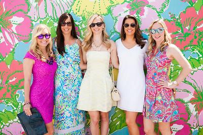 Kelly Spencer, Caitlin Mertzlufft, Lauren Kohley, Brittany Garcia, Shannon Spencer