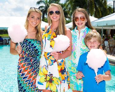 Katie Manor, Grace Busch, Maddie Busch, Peter Busch
