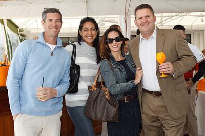 Chris & Cynthia Callaway, Jackie & Dan DeVito