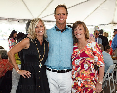 Ali & Jack Nicklaus Jr., Nan O'Leary attending the Center for Family Services Bubbly Bash Event
