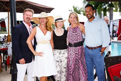 Brent Davis, Annie Davis, Patricia Breslauer, Jennifer & Gil Martinez