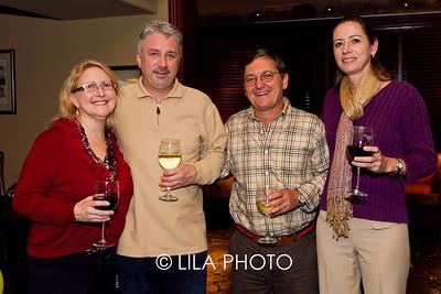 Paula & Ron Pollock, Peter & Gwen Rizzo