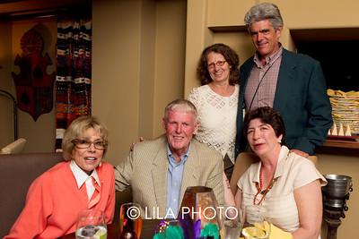Suzy Neestan, Scott Johnston, Mr. & Mrs. Stuart Johnston, Caroline Scheeman