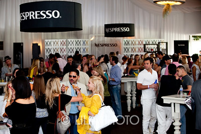 Nespresso Grande Pavillion packed with guests; photography by: LILA PHOTO