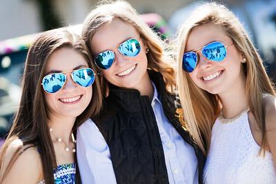Bridget Mahoney, Madison Edwards, Erin Spellman