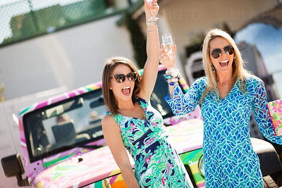 Lilly Pulitzer's Best Dressed, Lacey Ivancevic, Jessica Willoughby