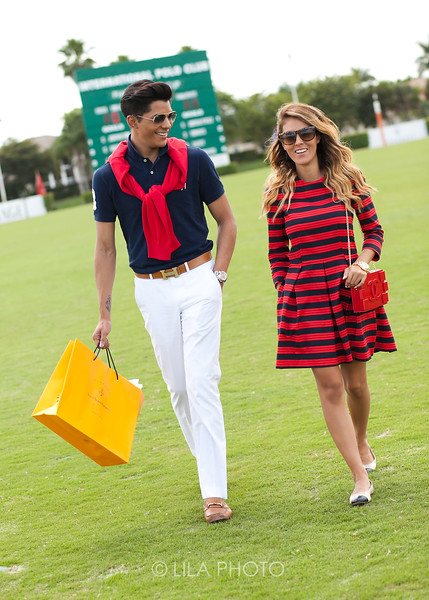 Fashion on the Field Winners, Ali Dash, Nicholl Vincent wearing a Holt Dress, Chanel purse