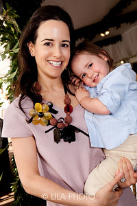Haley Lieberman Binn with her daughter Cece Binn