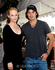 Ocean Drive Magazine Cover Model Amber Valleta, Nacho Figueras