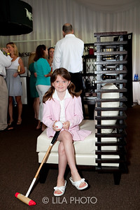 "(fashion) Candelyse Kenney (6) - showing off her Polo look with ""Pins"