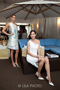 Michael Kors Models: Left - Rebekah Keida, Front Right - Fabiane Ribeiro