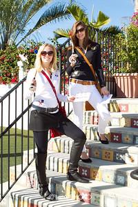 Models wearing La Martina