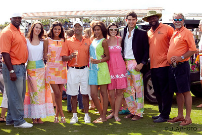 Bennie Blades Foundation with the Lilly Pulitzer