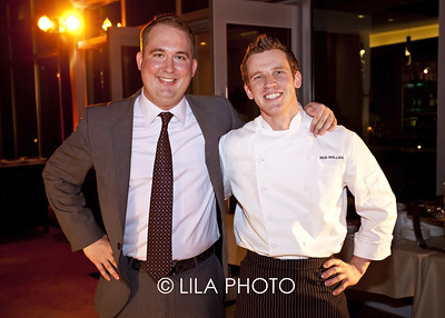 Andy Yeager (Partner, One),  Chef Reid Shilling