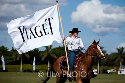 Piaget Polo Team Flag bearer