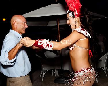 Michael Bucci dancing with Brazilian Dancer